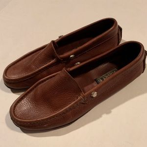 Gianni Versace leather vintage loafers Sz 37